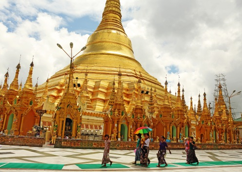 Shwedagon , golden tales